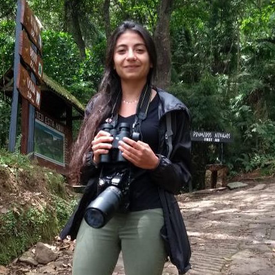 Birding expert MAria Isabel Castaño